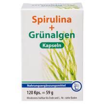 Spirulina + Grünalgen Kapseln