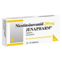Produktbild Nicotinsäureamid 200 mg Jenapharm Tabletten