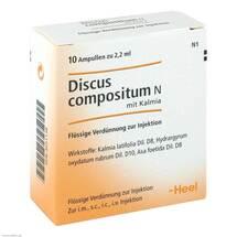 Produktbild Discus compositum N mit Kalmia Ampullen