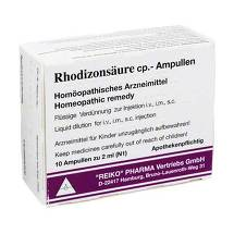 Rhodizonsäure cp.Ampullen Injektionslösung