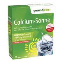 Produktbild Gesund Leben Calcium Sonne Brausetabletten