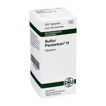 Produktbild Sulfur Pentarkan H Tabletten