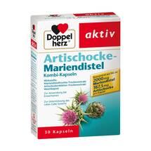 Doppelherz Artischocke+Mariendistel Kapseln
