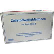 Produktbild Zellwa Blättchen hochgebl. 4x6 cm