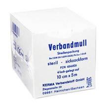 Produktbild Verbandmull 10cmx5m 4-fach s
