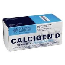 Produktbild Calcigen D 600 mg / 400 I.E. Kautabletten