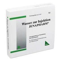 Wasser zur Injektion Jenapharm Ampullen