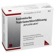 Produktbild Isotonische Nacl Jenapharm Ampullen