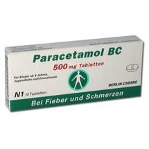 Produktbild Paracetamol BC 500 mg Tabletten