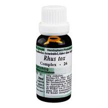 Produktbild Rhus toxicodendron 26 Rheumatoplex