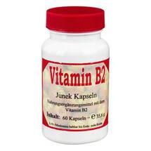 Produktbild Vitamin B2 3,6 mg Junek Kapseln
