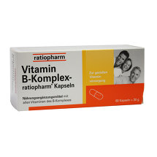 Produktbild Vitamin B-Komplex ratiopharm Kapseln