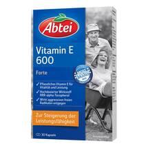 Produktbild Abtei Vitamin E 600 N Kapseln