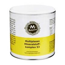 Produktbild Multiplasan Mineralstofflkomplex 53 Pulver