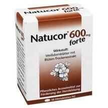 Produktbild Natucor 600 mg forte Filmtabletten