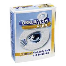 Produktbild Okkluglas Aero Uhrglasverban