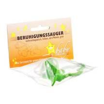 Produktbild Beruhigungssauger Kieferorthopädisch Sil.ab 6 M.grün