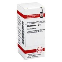 Produktbild Abrotanum D 6 Globuli
