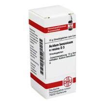 Produktbild Acidum benzoicum e res. D 3