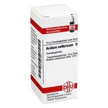 Produktbild Acidum sulfuricum D 10 Globuli