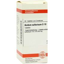 Acidum sulfuricum D 10 Tabletten
