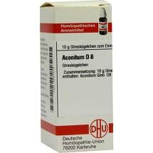Produktbild Aconitum D 8 Globuli