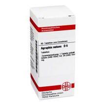 Produktbild Agraphis Nutans D 6 Tabletten