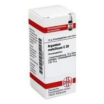 Produktbild Argentum metallicum C 30 Globuli