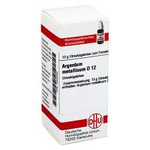 Produktbild Argentum metallicum D 12 Globuli