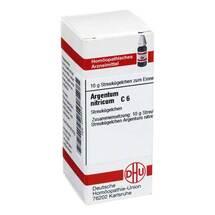 Produktbild Argentum nitricum C 6 Globuli