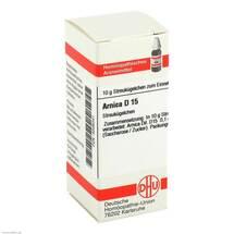 Produktbild Arnica D 15 Globuli