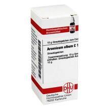 Produktbild Arsenicum album C 12 Globuli