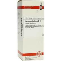 Aurum metallicum D 15 Dilution