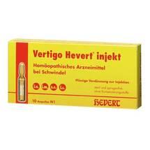 Vertigo Hevert Injekt Ampullen