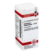 Produktbild causticum Hahnemanni D 10 Gl