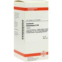 Produktbild causticum Hahnemanni D 30 Tabletten
