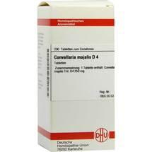 Produktbild Convallaria majalis D 4 Tabletten