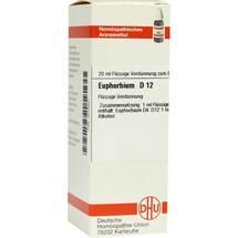 Produktbild Euphorbium D 12 Dilution