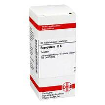 Produktbild Fagopyrum D 6 Tabletten