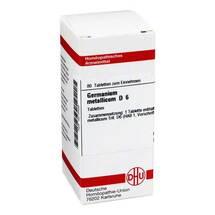 Produktbild Germanium metallicum D 6 Tabletten