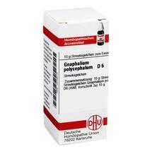 Produktbild Gnaphalium polycephalum D 6 Globuli