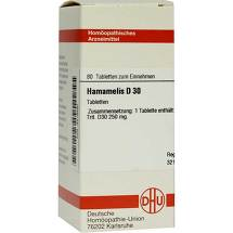 Produktbild Hamamelis D 30 Tabletten