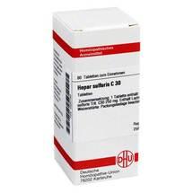 Produktbild Hepar sulfuris C 30 Tabletten