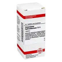 Produktbild Histaminum hydrochloricum D 6 Tabletten
