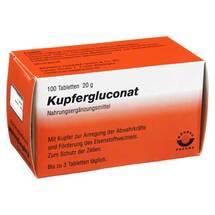 Produktbild Kupfergluconat Tabletten