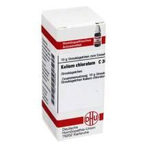 Kalium chloratum C 30 Globuli