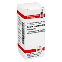Kalium chloratum D 30 Globuli