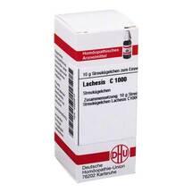 Produktbild Lachesis C 1000 Globuli