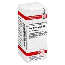 Produktbild Lac defloratum D 6 Globuli