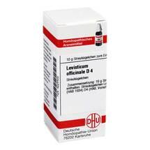 Produktbild Levisticum officinale D 4 Globuli